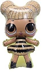 Фольгированный  шар фигура кукла Лол QUEEN BEE Китай