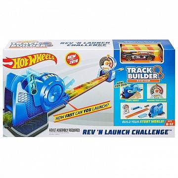 Оригинальный Трек Хот Вилс Супер Пусковая Уставнока Hot Wheels rev launch challenge (FLL02)
