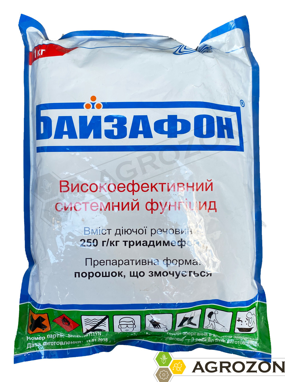 Фунгицид Байзафон (Байлетон) Химагромаркетинг - 1 кг