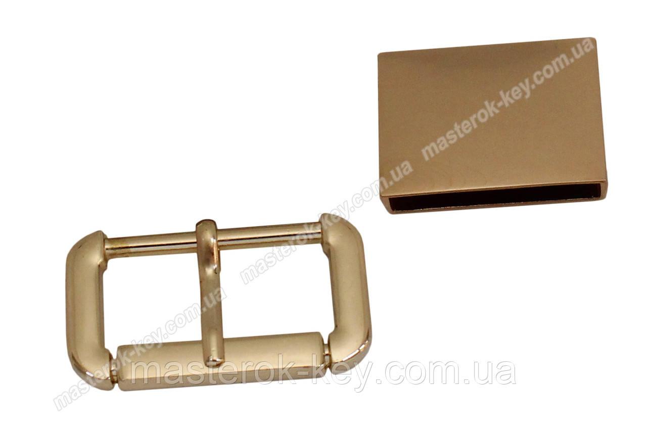 Пряжка №47963 золото