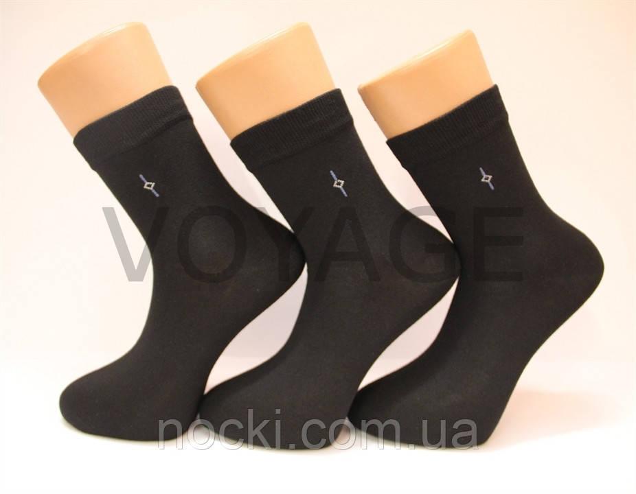 Мужские носки средние с хлопка 200 MONTEBELLO НЛ 27-29 черный