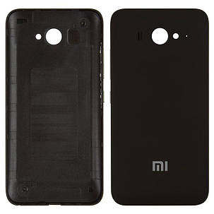 Задня кришка для Xiaomi MI2/MI2S чорний, фото 2