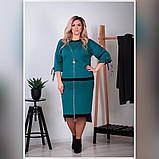 Костюм женский большого размера юбка на резинке Размеры: 52-54,56-58,60-62,, фото 4