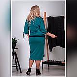 Костюм женский большого размера юбка на резинке Размеры: 52-54,56-58,60-62,, фото 5