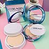 Увлажняющая компактная пудра с коллагеном 13 светло-бежевый Enough Collagen Two way Cake 13, фото 3