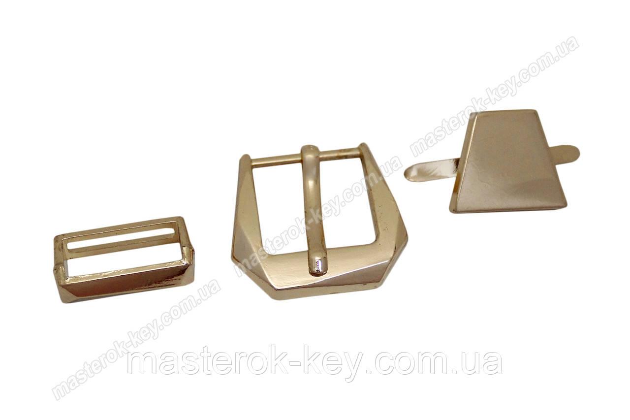 Пряжка №44677Д золото