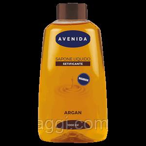 Жидкое мыло с экстрактом Аргана Avenida Sapone Liquido Setivicante Argan 1000 ml