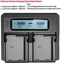 Подвійне зарядний пристрій Kingma EN-EL15 Для акумуляторів Nikon D810, D750, D7200, D7100, D7000, D800E., фото 3