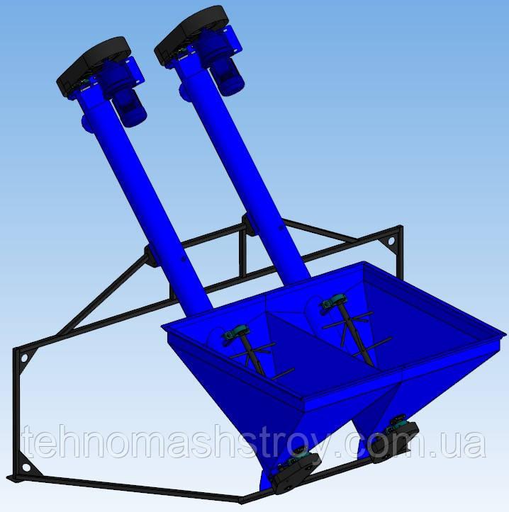 Шнековый конвейер ШТЗ-200х2