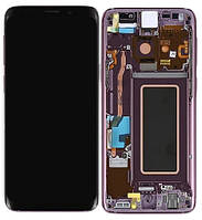 Дисплей Samsung Galaxy S9 G960 Original 100% (Service Pack) with frame Purple