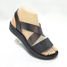 38 р. Жіночі босоніжки, сандалі на резинці літні остання пара