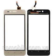 Сенсорний екран для Huawei Y3 II, (3G-версія), золотистий, LUA-U03/U23/L03/L13/L23