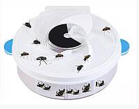Знищувач комах, пастка для мух Mosquitoes Fly Trap 3022 від мережі, фото 1