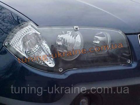 Защита фар EGR прозрачная на BMW X3 (E83) 2004