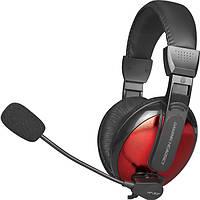 Игровые наушники XTRIKE ME Gaming HP-307 с микрофоном, проводные, черно-красные