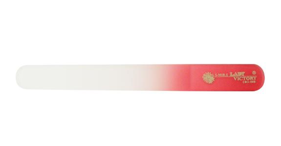 Двухсторонняя стеклянная пилка для натуральных ногтей Lady Victory LDV  EBG-00В/02-1 - Promparfum — парфюмерия, косметика, ногтевой сервис в Харькове