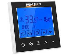Терморегулятор для систем опалення, теплої підлоги Heat Plus BHT-321Gb Black
