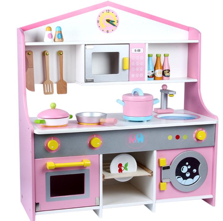 Деревянная детская кухня. Игровая кухня. Развивающая игрушка. Отличный подарок ребенку
