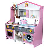 Деревянная детская кухня. Игровая кухня. Развивающая игрушка. Отличный подарок ребенку, фото 2