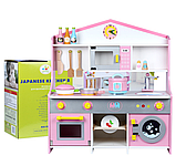 Деревянная детская кухня. Игровая кухня. Развивающая игрушка. Отличный подарок ребенку, фото 3