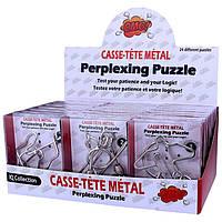 Металлические головоломки для детей и взрослых. Развивающая игрушка. Отличный подарок для ребенка