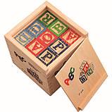 Развивающая деревянная игрушка. Деревянный куб с крышкой и кубиками для самых маленьких., фото 4