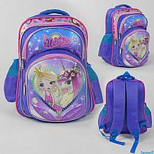 Рюкзак 3D малюнок, 1 відділення, 2 кишені, м'яка спинка, в пакеті.