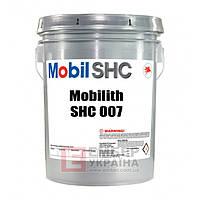 Высокотемпературная смазка Mobilith SHC 007, 16кг