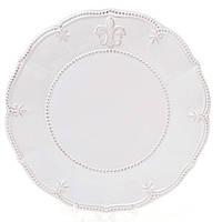 Тарелка обеденная Лилия керамика  20 см