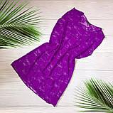 Женская пляжная туника гипюровая, фото 6
