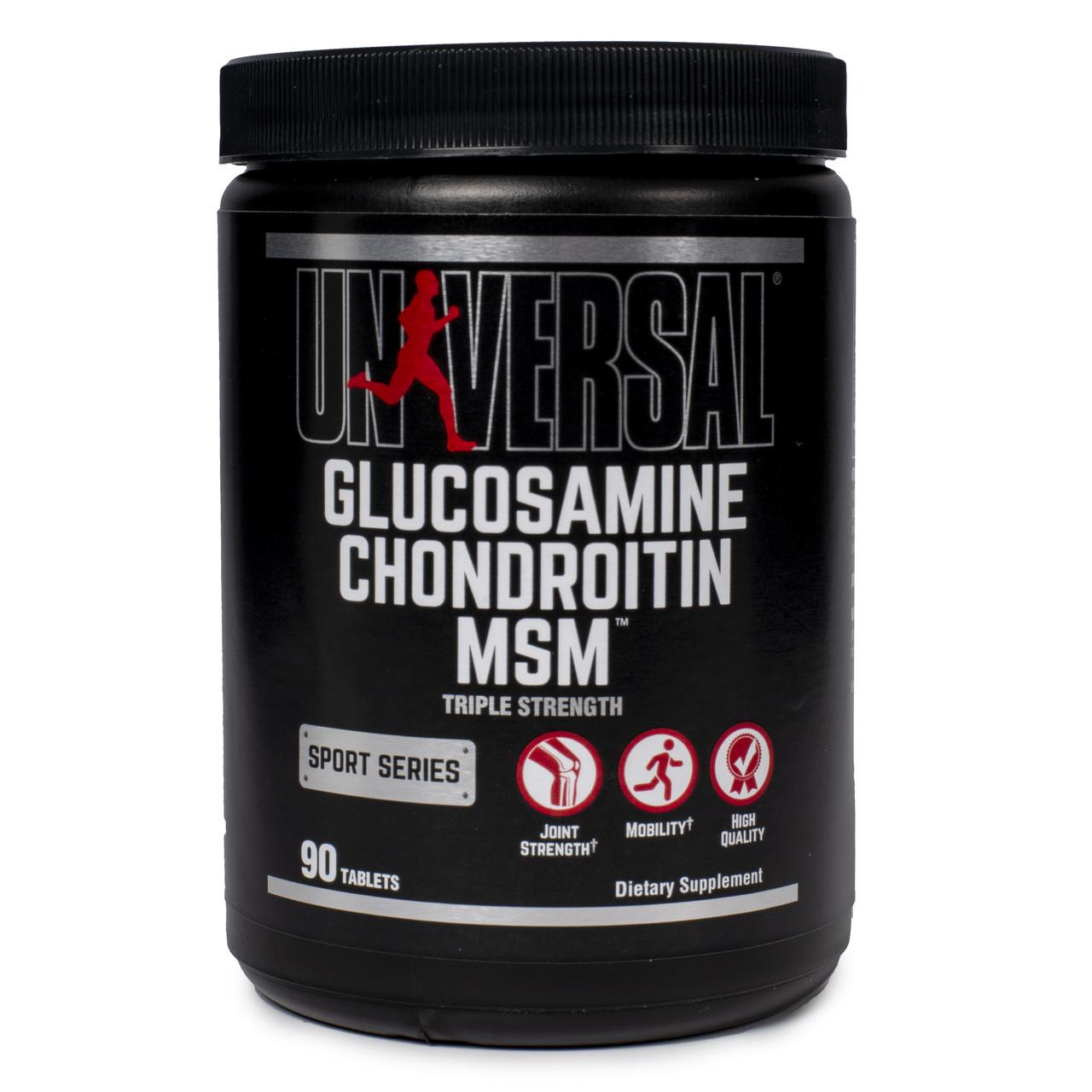 UN Glucosamine Chondroitin MSM 90 т