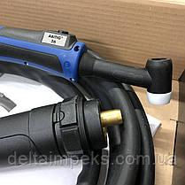 Зварювальний пальник ABITIG 26 GRIP , 4 м GZ-2 євророз'єм подача газу кнопкою, фото 2