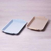Форма для запекания с антипригарным мраморным покрытием и силиконовыми ручками 4629.54.5см Kamille a6027