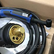 Сварочная горелка ABITIG 26 GRIP , 4 м GZ-2 евроразъем подача газа кнопкой, фото 2