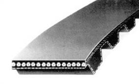 Ремни зубчатые литьевые сборные полиуретановые и резиновые, с металлокордом