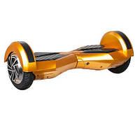 Гироборд Smart Balance 8 дюймов золотистый (Приложение к телефону, Самобаланс, Led, Bluetooth, сумка), фото 1