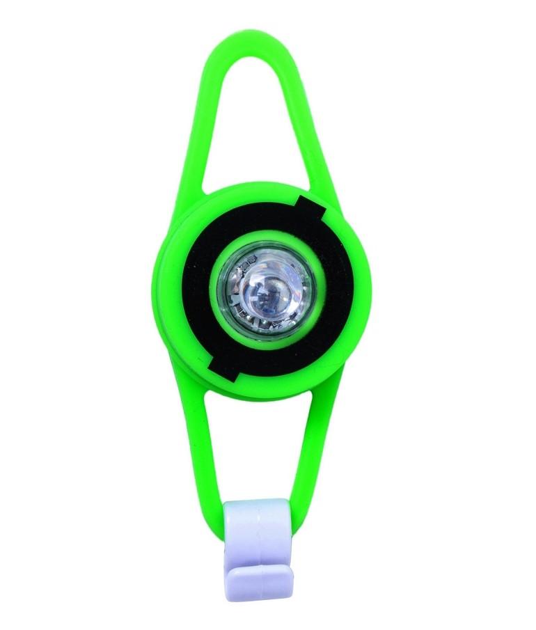 Фонарик Globber Flash Led зеленый