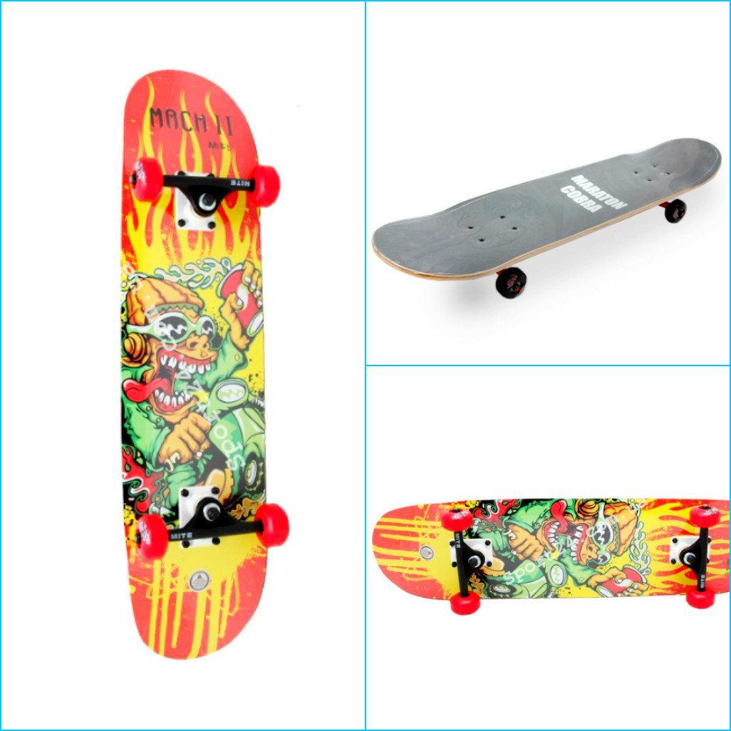 Скейтборд MARATON COBRA MACH II до 85кг