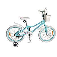 "Велосипед Leader Kitty 20"" голубой"