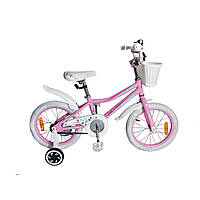 "Велосипед Leader Kitty 16"" розовый"