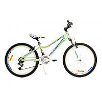 "Велосипед Leader Jasmine 24"" зеленый"