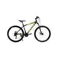 """Велосипед Leader Active 26"""" (Black/Green) 16,5"""" черно-зеленый"""