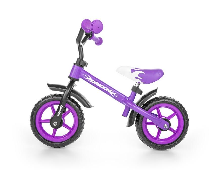 Беговел Milly Mally Dragon фиолетовый