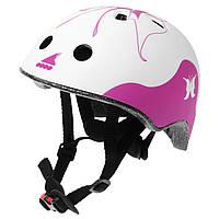 Шлем защитный RolleBlade Twist Jr фиолетовый / белый