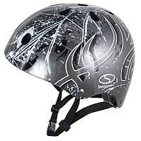 Шолом SMJ Sport Anarchy Metalic Silver, сірий, фото 1