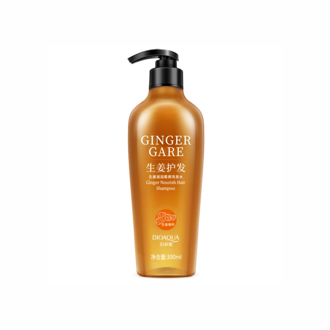 Шампунь с имбирем без силикона Bioaqua Scalp Care Ginger Nourish Hair Shampoo