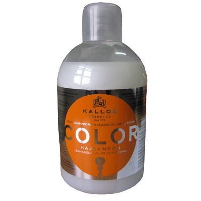 Шампунь Kallos Color (защита и восстановление окрашеных волос) 1л