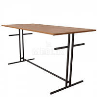 Стол обеденный на 6 мест для школьной столовой, фото 1