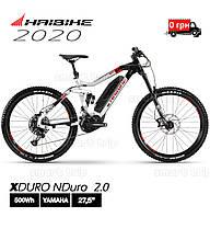 Электровелосипед 27.5 HAIBIKE XDURO NDuro 2.0 2020 двухподвес рама S  (4541090042)