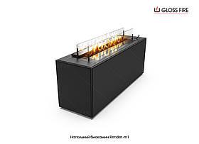 Напольный камин - биокамин Render-m1 производства TM Gloss Fire